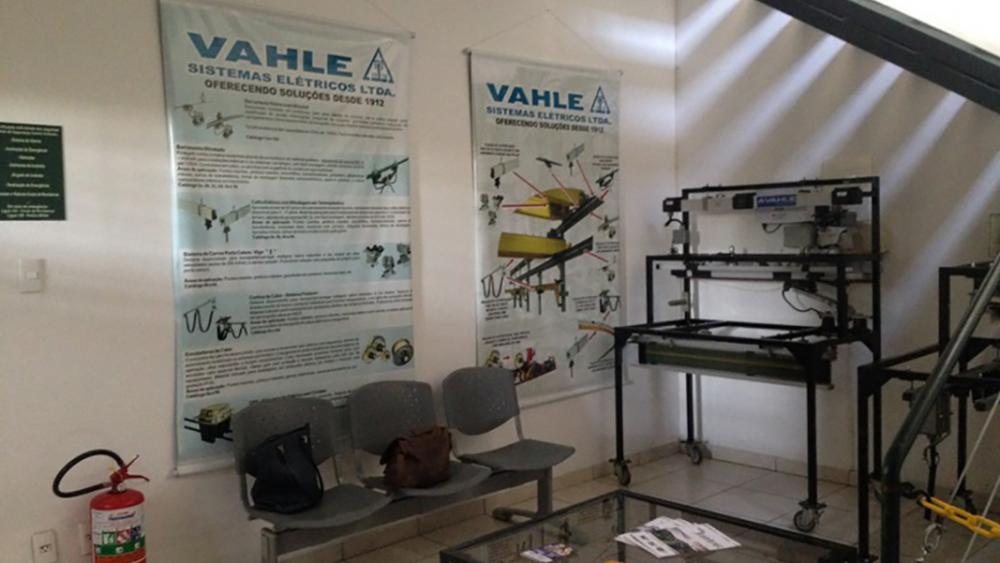 Projeto Empresa Vahle Sistemas Elétricos Recepção