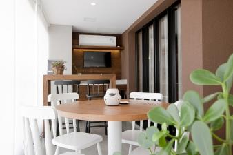 Edifício Residencial City Parque – Projeto L|N Varanda Gourmet